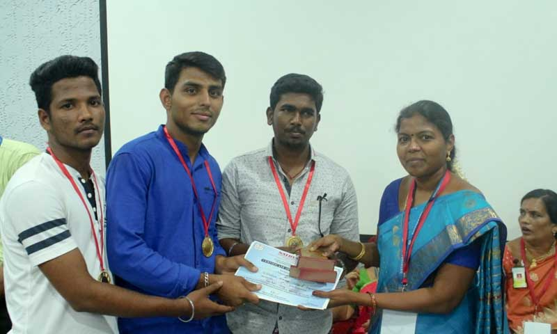 Students got second place